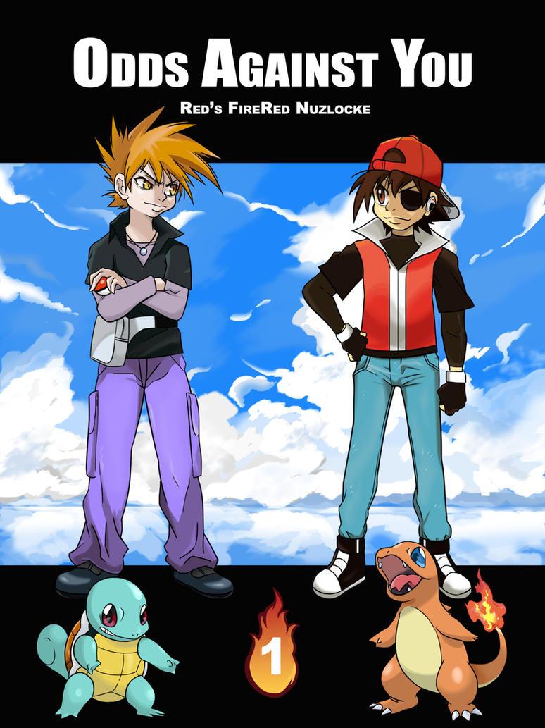 Fire Red Nuzlocke Cover by NintendoPie