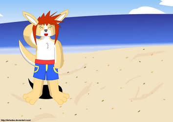 Day at the beach 1 by 4shades