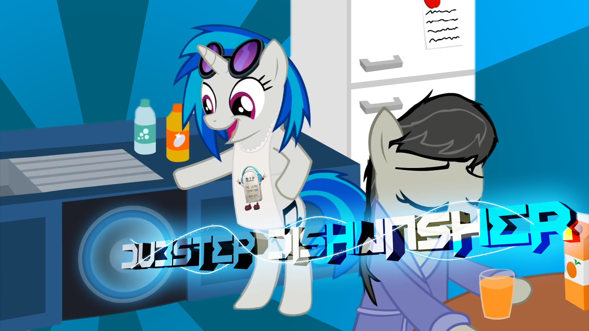 The Living Tombstone - Dubstep Dishwasher by LeviDragon