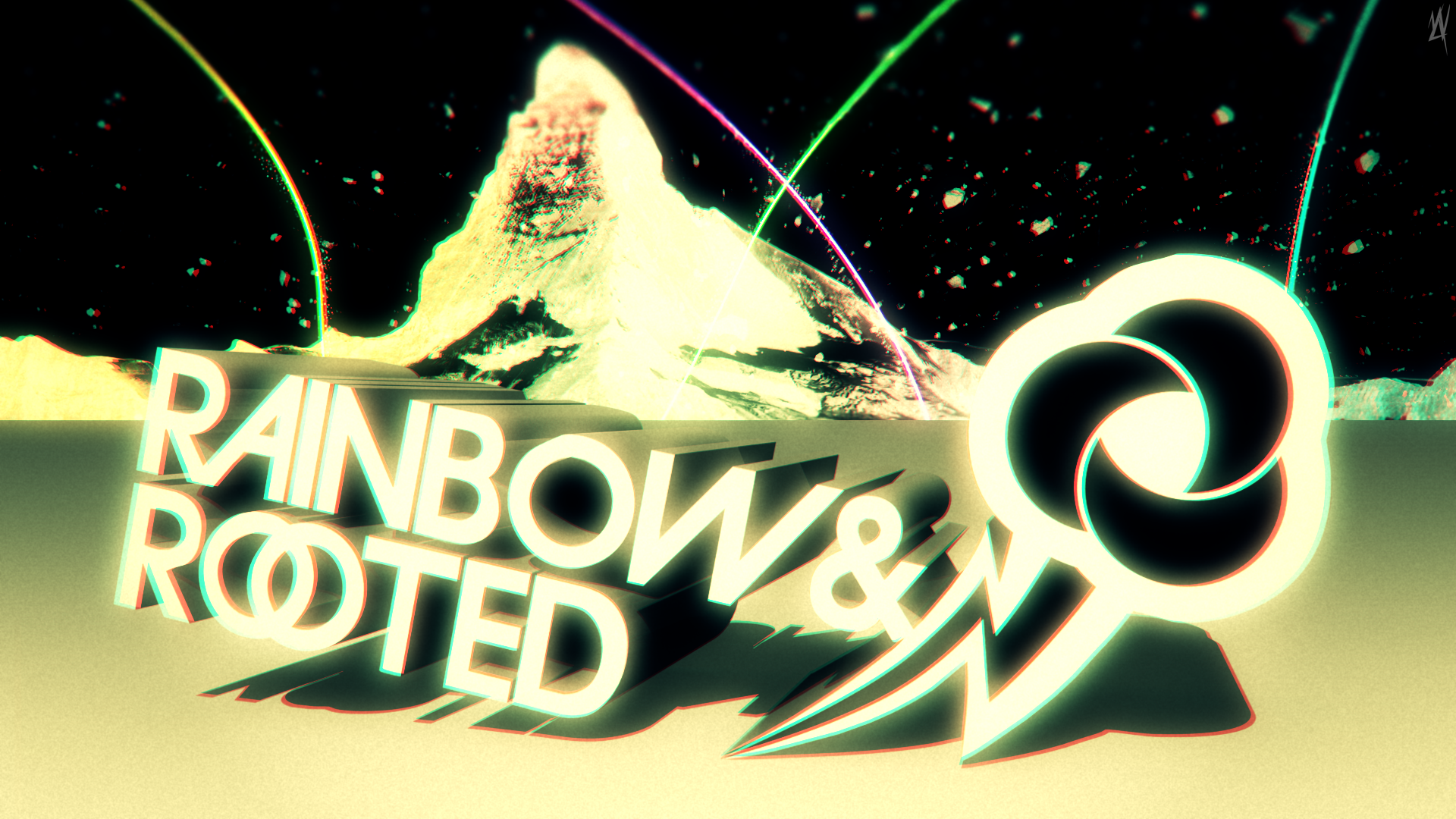 Rainbow and Rooted by MyLittleVisuals