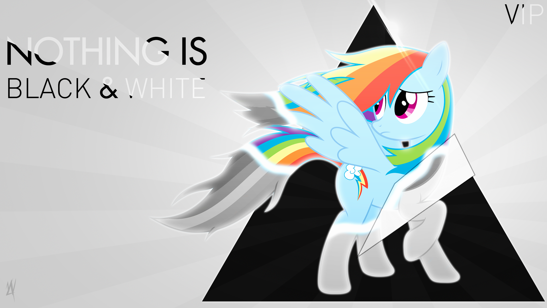 Nothing is Black and White [VIP] by MyLittleVisuals
