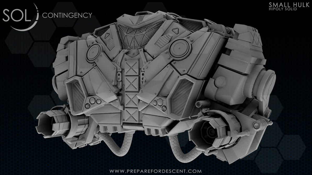 Small hulk Solid01 Robot_Front - Posted! by 1DeViLiShDuDe