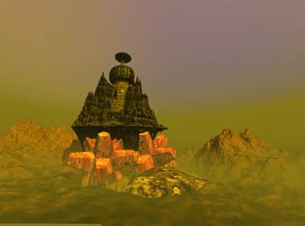 Abandoned Mars Outpost by 1DeViLiShDuDe