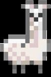 Albino Llama by 1DeViLiShDuDe
