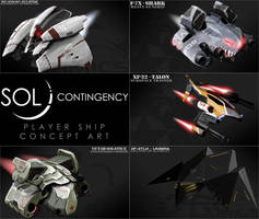 Sol Contingency Player Ship Concepts - Posted