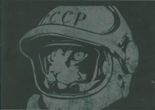 Cosmo Cat Stencil