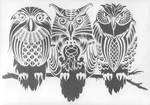 owls by SHVEPSEG