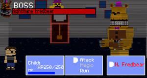 FNaF RPG: Boss Nightmare Fredbear
