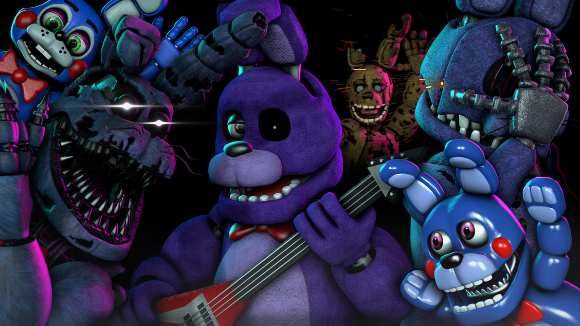 Rock Band. (SFM) by ScatmanGu