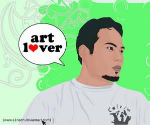 me luv art by s1nacH