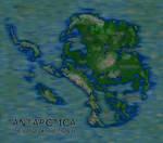 Fantasy Ice-Free Antarctica