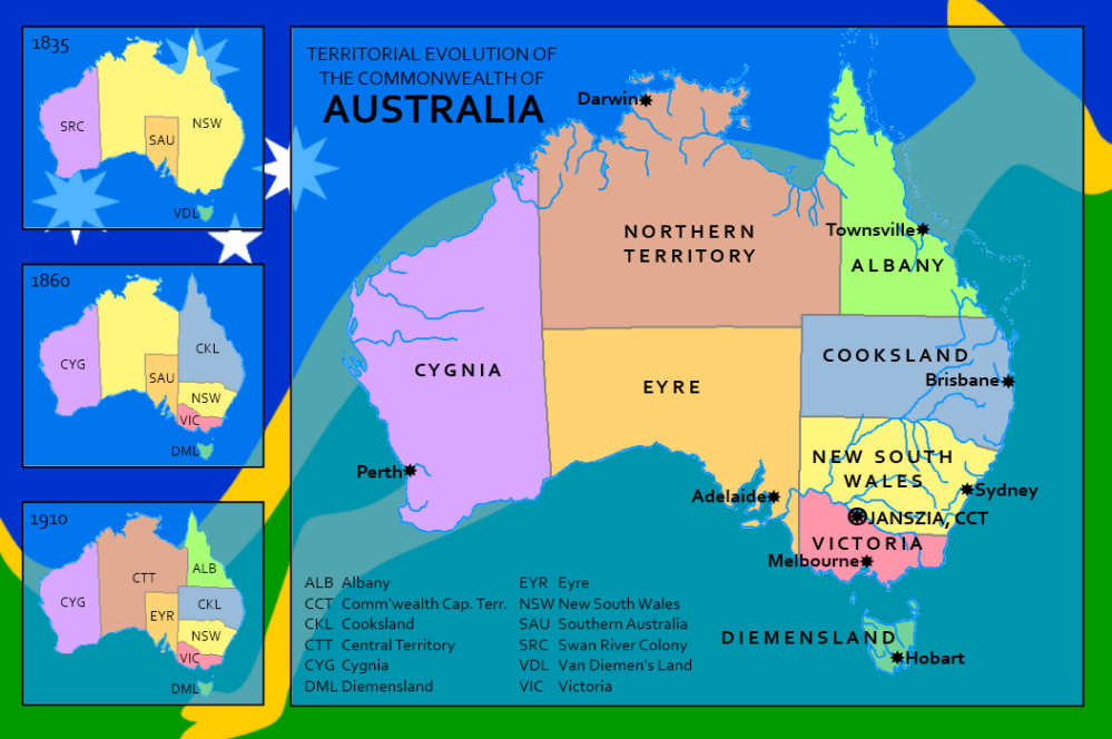 Map Australia 4371.Alternate Australia By Rubberduck3y6 On Deviantart