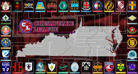 Chesapeake Republic Soccer Poster
