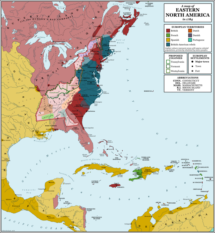 North America  By Rubberducky On DeviantArt - Map of american colonies
