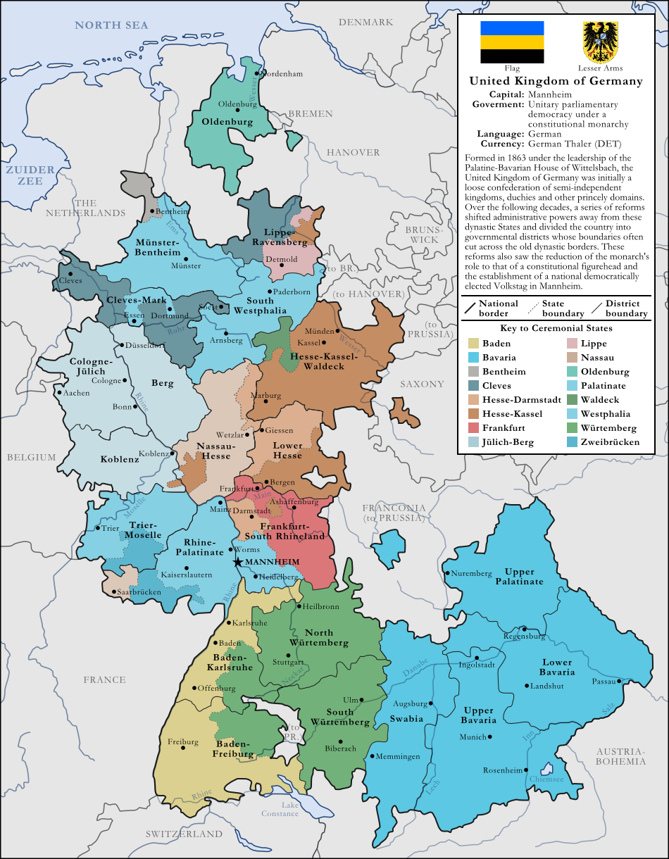 United Kingdom Of Germany By Rubberduck3y6 On Deviantart