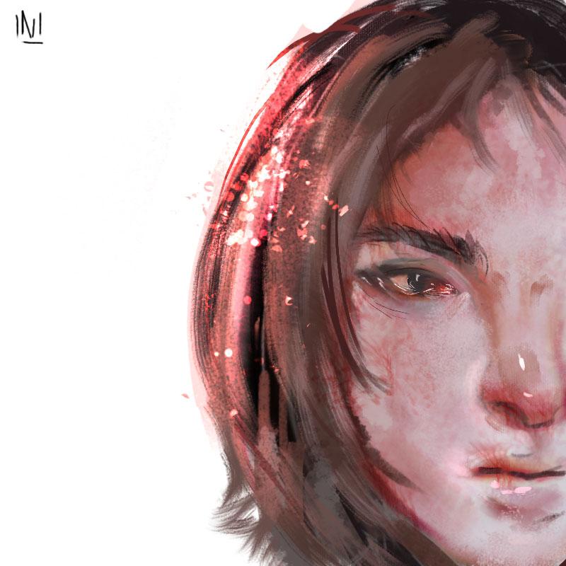 (I'm a half- faced loser) by Nero-Shade