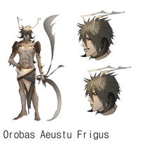 Orobas Aeustu Frigus (OC Sheet) by Nerozhilai