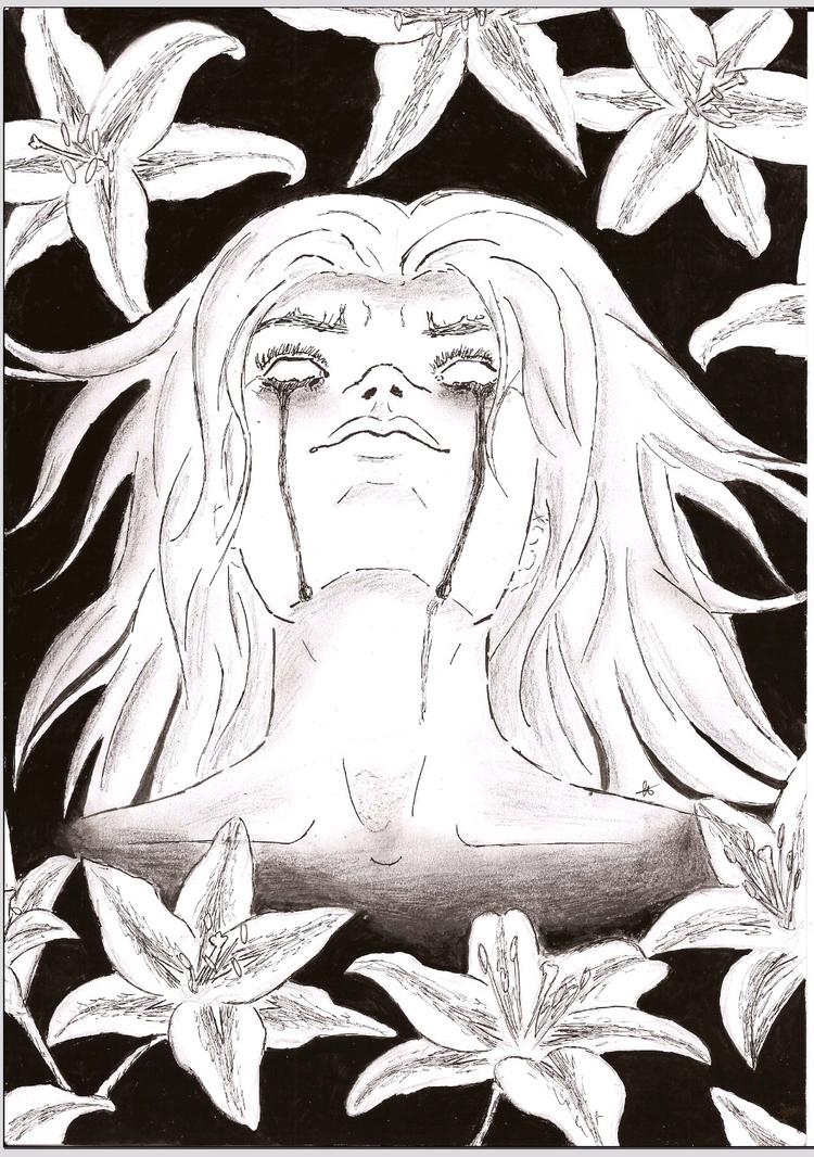 Dark fleur-de-lis (Fantasy contest entry) by BloodyMary66