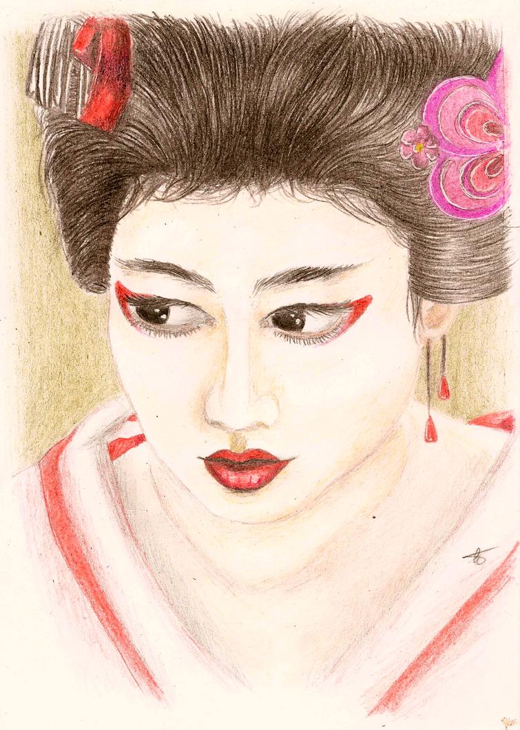 Geisha by BloodyMary66