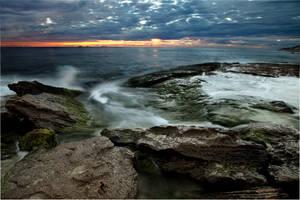 Sunset at Burns by jcantelo