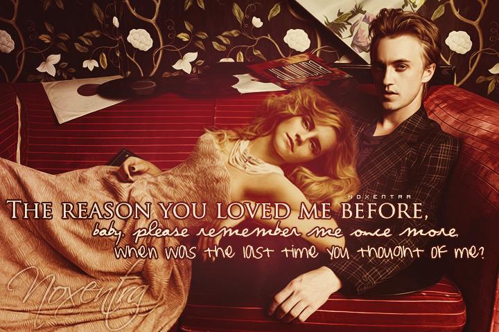 Emma Watson Tom Felton By N0xentra