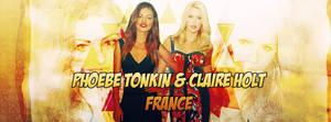 Phoebe Tonkin et Claire Holt France