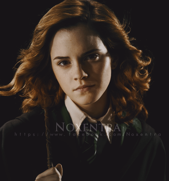 Emma Watson as Slytherin by N0xentra