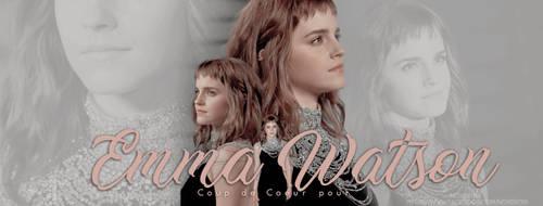 Coup de Coeur pour Emma Watson by N0xentra