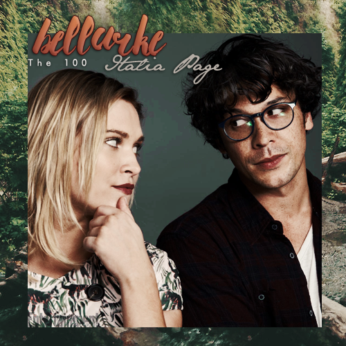 The 100 - Bellarke Italia Page by N0xentra on DeviantArt