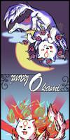 Okami bookmark