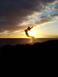 Sunset Jump by aeon-100