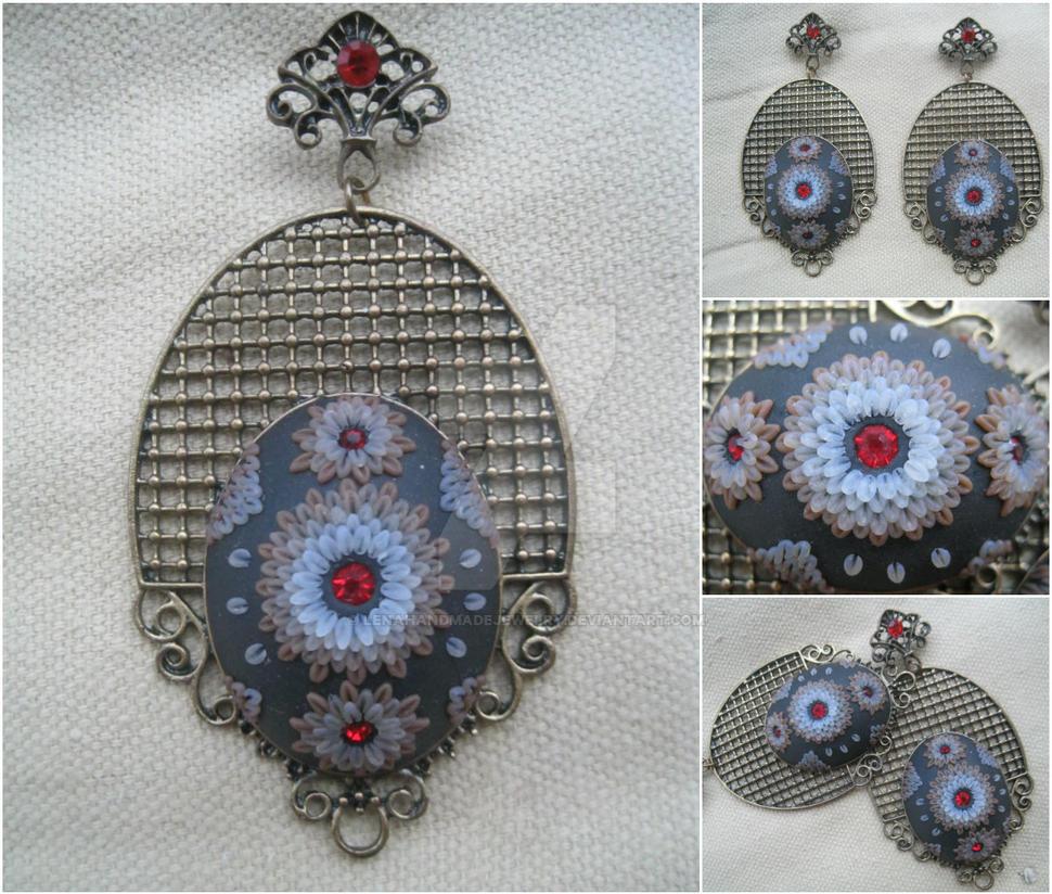 Earrings by LenaHandmadeJewelry