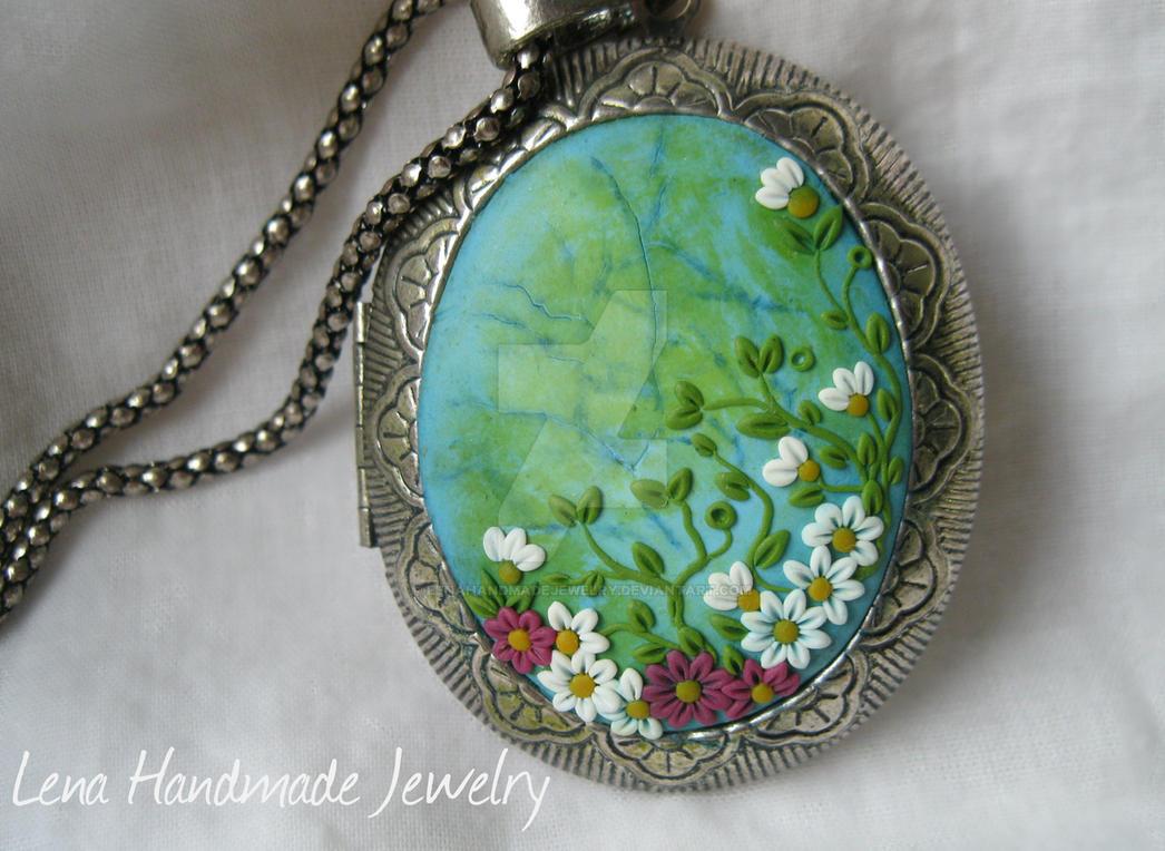 Ocean Flowers by LenaHandmadeJewelry