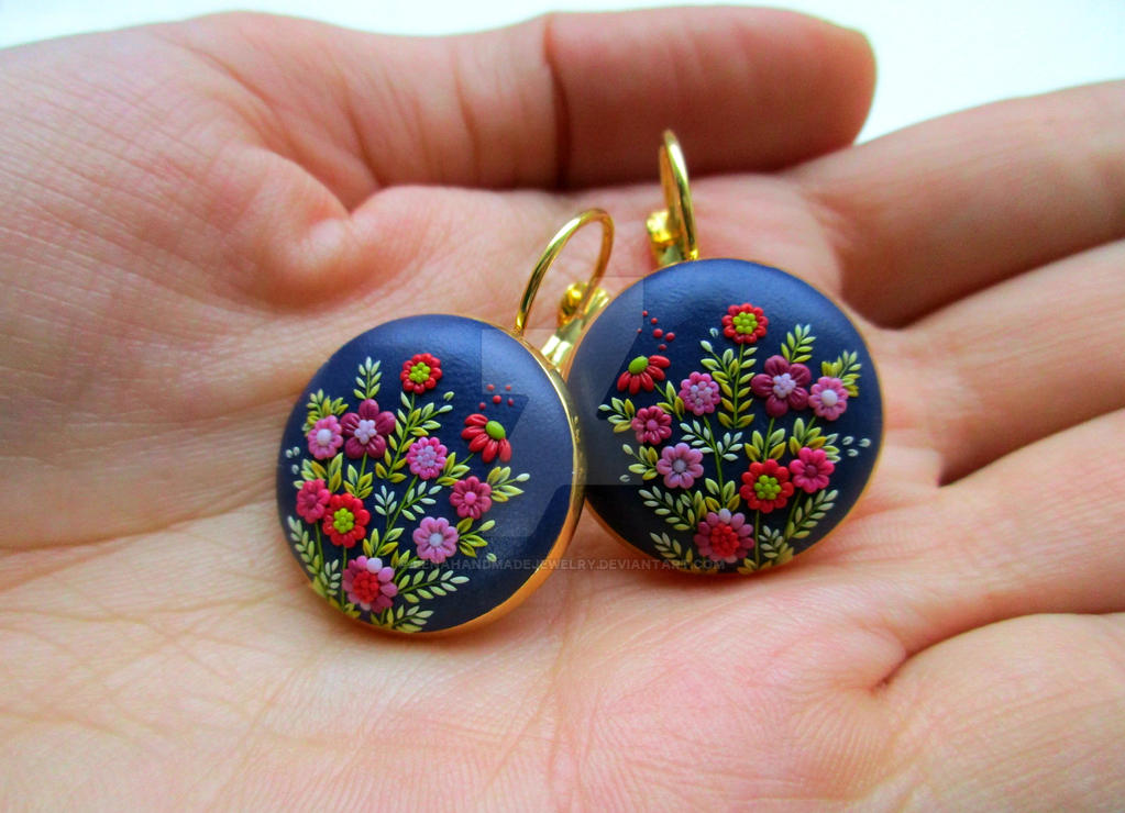 Polymer Clay Jewelry - real handmade it... by LenaHandmadeJewelry