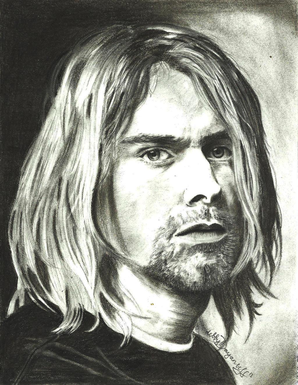 Kurt cobain by debbyjuliansyah777 on deviantart