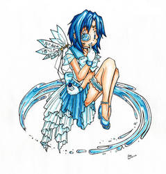 Sailor Mercury Remix by CuteRobot
