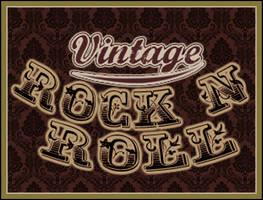 Vintage Rock n' Roll by stevfusion