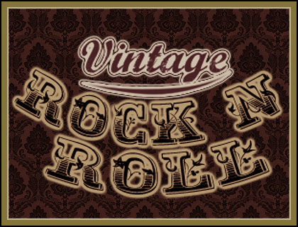 Vintage Rock And Roll 106