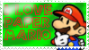 I love Paper Mario stamp by PoisonLuigi