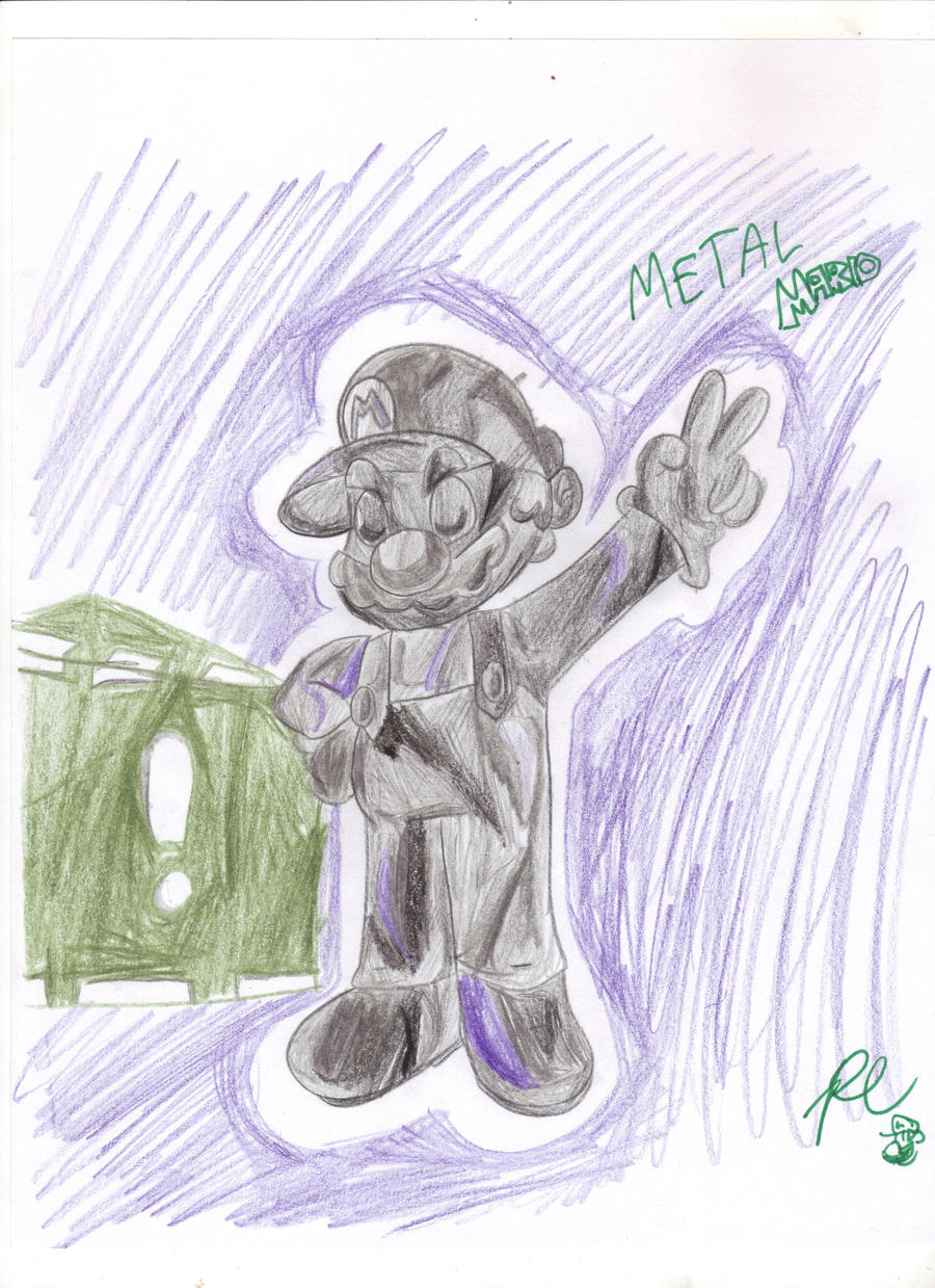 Metal Plumber by PoisonLuigi