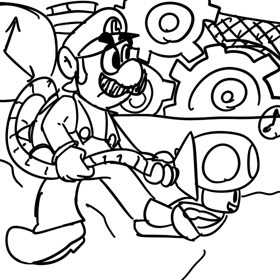Luigi Mansion Coloring Pages Download Ghost Sketch ...