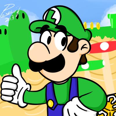 Luigi by PoisonLuigi