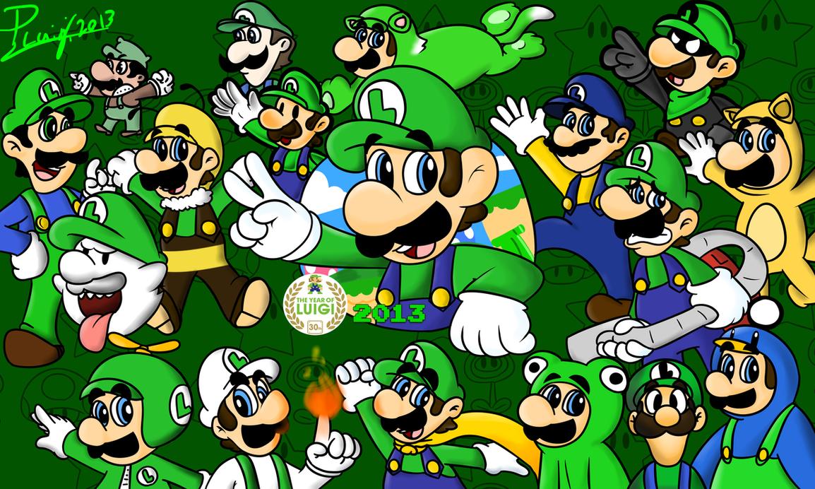Year Of Luigi 2013 by PoisonLuigi