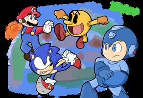 Super Smash Bros. by PoisonLuigi