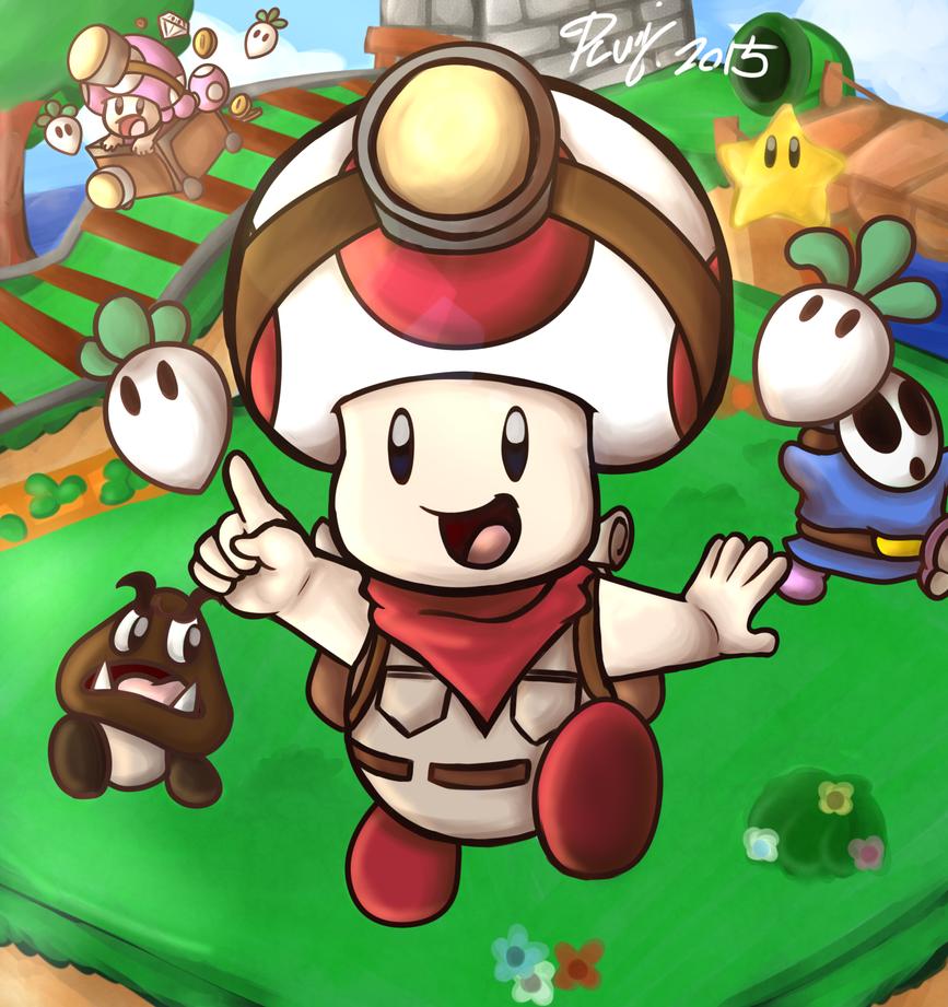 super toad 67 by PoisonLuigi
