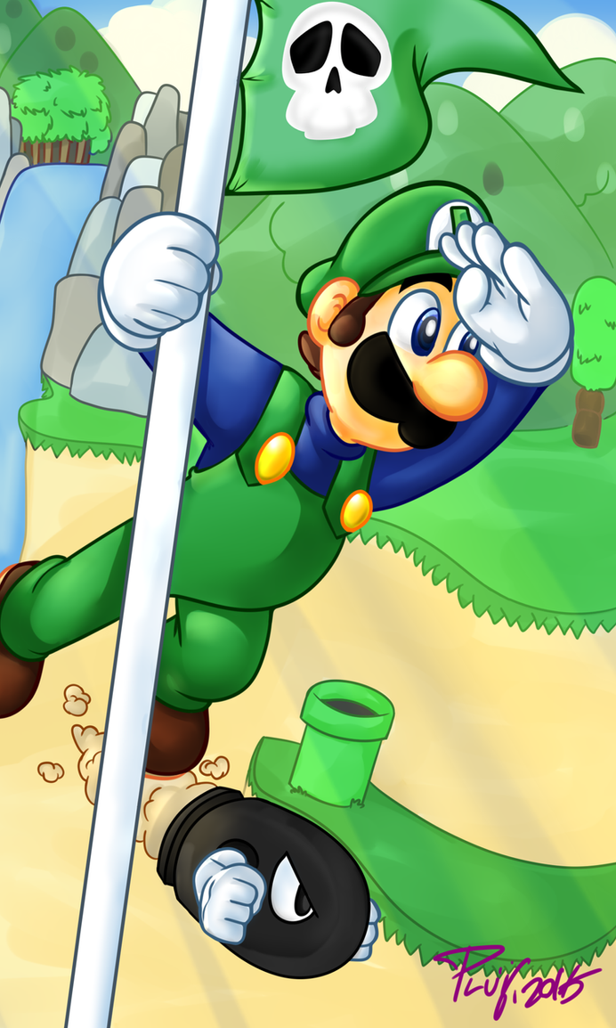 super mario brothers 2 baby by PoisonLuigi