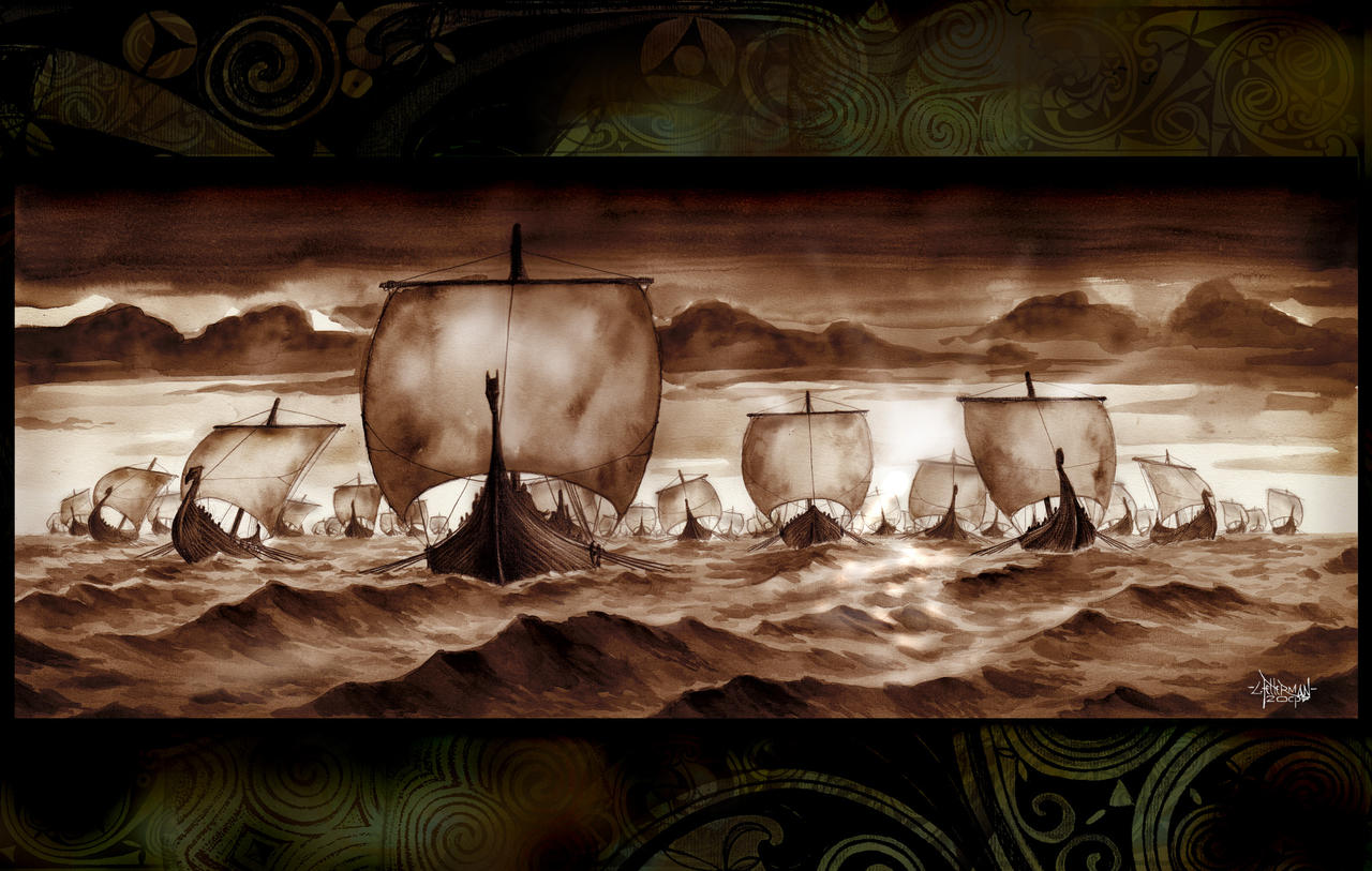 Viking Fleet by Loren86