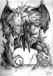 Old_School_Monster by Loren86