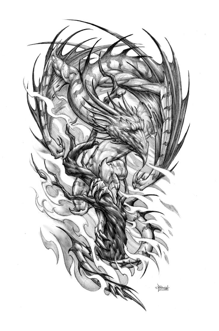 Tree Dragon By Loren86 On DeviantArt