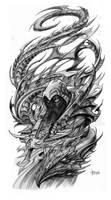 Serpent Warrior by Loren86